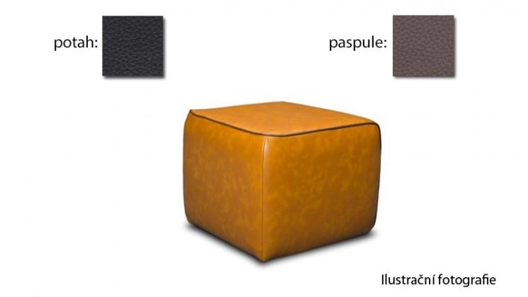 Taburet Case -(k:excellent-mud H356,sk.2s/m:excellent-black H360,sk.2s)