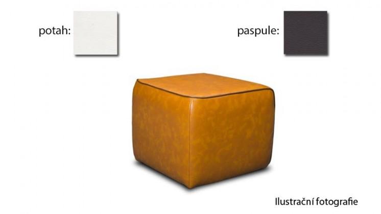 Taburet Case - (k:pulse-espresso D219,sk.2s/m:pulse-white D200, sk.2s)