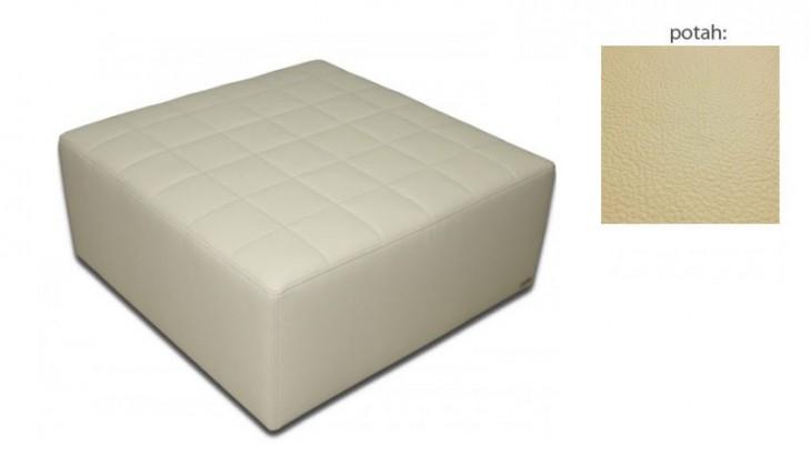 Taburet čtvercový (hermes cream)