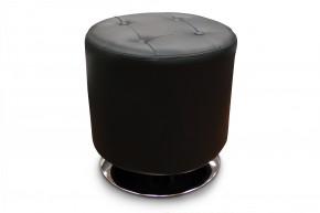 Taburet Dora kruh černá