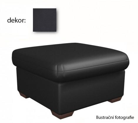 Taburet York - taburet (extraleather black)