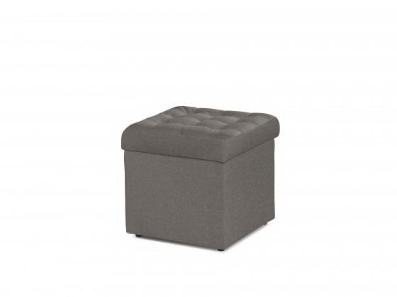 Taburety Taburet Surprise čtverec šedá ÚP
