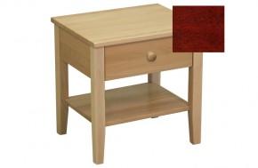 Talia - Noční stolek (mahagón)