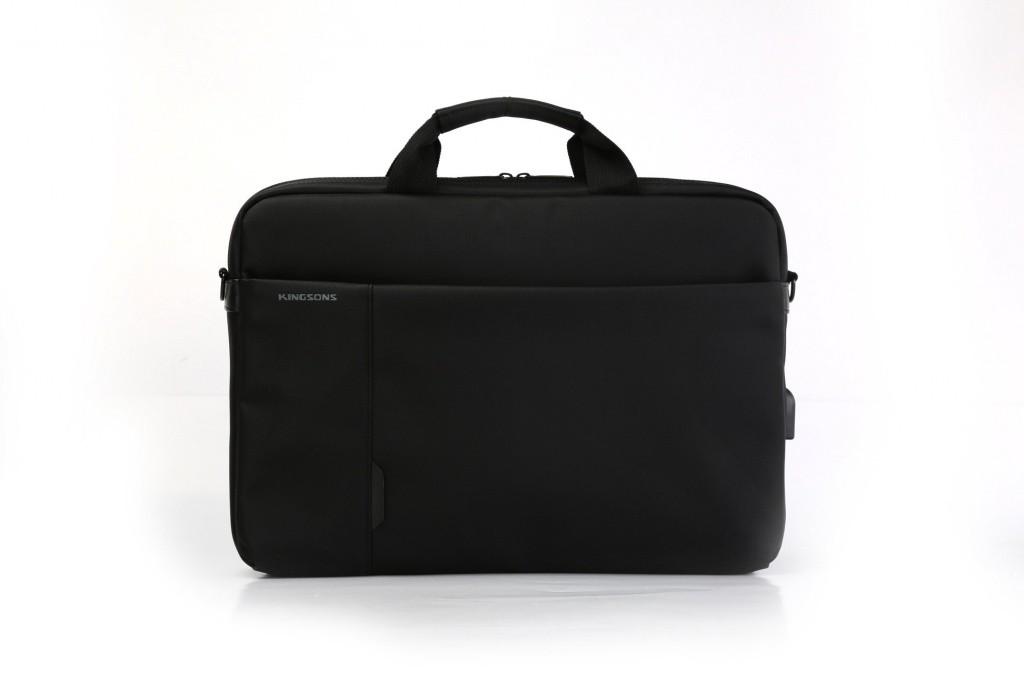 """Tašky na notebooky Brašna na notebook Kingsons Smart Power 15,6"""", černá"""