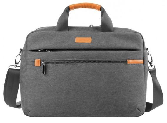 Tašky na notebooky Brašna pro notebook Natec Saola 15,6'', šedá