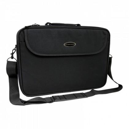 Tašky na notebooky Esperanza ET103 CLASSIC+ brašna pro notebook 17'', černá
