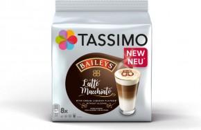 Tassimo Latte Macchiato Baileys, 8+8ks