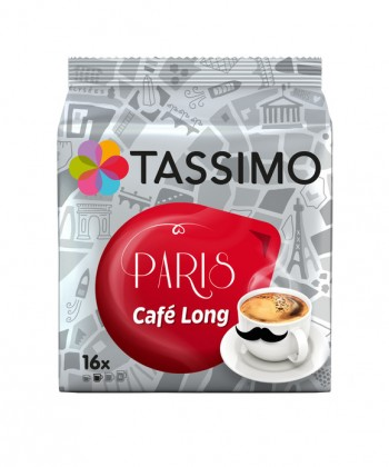 TASSIMO PARIS CAFÉ LONG 107.2G