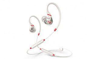 TCL ACTV100BTWT BT sportovní sluchátka do uší, mikrofon, bílá