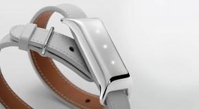 TCL MOVEBAND 2 Fashion náramek, Metal Chrome/White