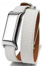 TCL MOVEBAND 2 Fashion náramek, Metal Chrome/White POUŽITÉ