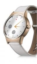 TCL MOVETIME Smartwatch, Leather, Gold/White POUŽITÉ