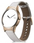 TCL MOVETIME Smartwatch, Leather, Gold/White POUŽITÉ