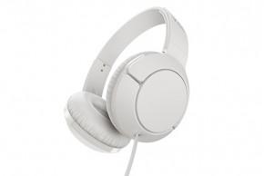 TCL MTRO200WT sluchátka náhlavní, drátová, mikrofon, bílá