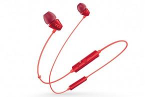 TCL SOCL100BTOR BT sluchátka do uší, mikrofon, BT 4.2, oranžová