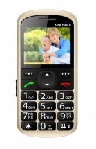 Telefon pro seniory CPA Halo 11, zlatá