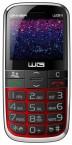 Telefon pro seniory Winner WG15, červená