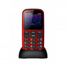 Telefon pro seniory Winner WG8, červená, ROZBALENO