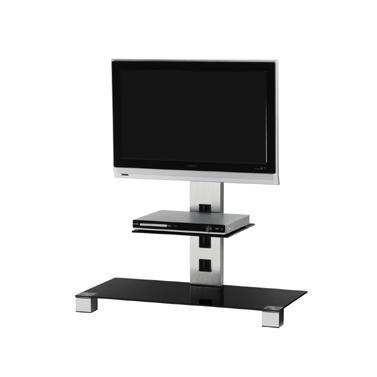 "Televizní stolek Stolek pro TV Sonorous PL 2500 C-INX, max. 42"" a 30kg, nerez"