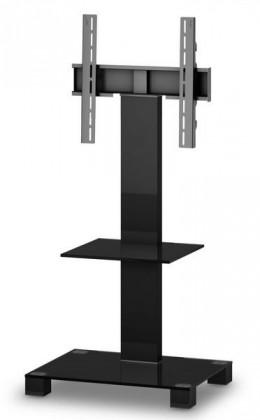 "Televizní stolek Stolek pro TV Sonorous PL 2515 B-HBLK, max. 50"" a 50kg, černý"