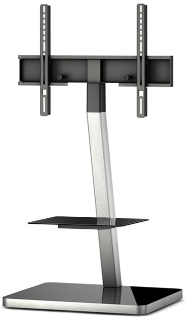 "Televizní stolek Stolek pro TV Sonorous PL 2710B-INOX, max. 55"" a 30kg, nerez"