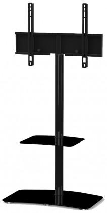 """Televizní stolek Stolek pro TV Sonorous PL 2810-HBLK, max. 55"""" a 30kg, černý"""