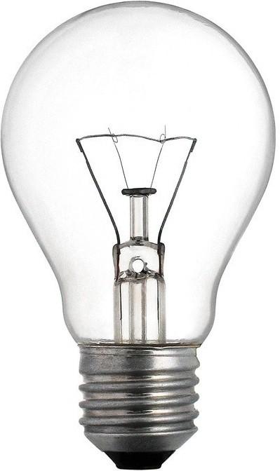 TES-LAMP ŽÁROVKA E27 60W ČIRÁ