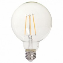 Tesla LED žárovka CRYSTAL RETRO GLOBE E27 8W