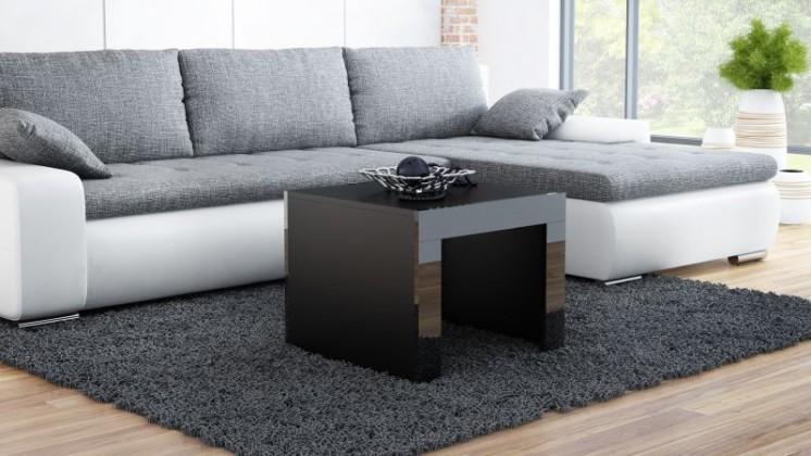 Tess - Konferenční stolek čtvercový (černá)