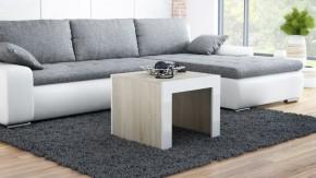 Tess - Konferenční stolek čtvercový (dub, bílá)