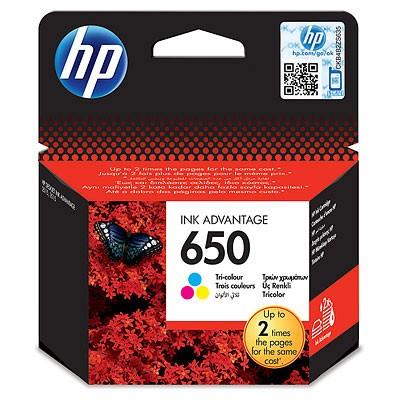 Tisková kazeta tří barev HP CZ102AE
