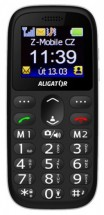 Tlačítkový telefon Aligator A510 černá