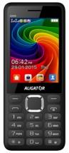 Tlačítkový telefon Aligator D940 DS, černá POUŽITÉ, NEOPOTŘEBENÉ
