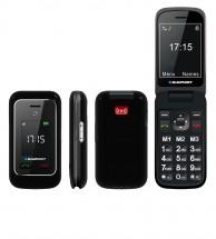 Tlačítkový telefon Blaupunkt BS 06, černá POUŽITÉ, NEOPOTŘEBENÉ Z
