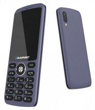 Tlačítkový telefon Blaupunkt FL 07, modrá