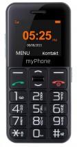 Tlačítkový telefon CPA Halo Easy, černá