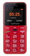 Tlačítkový telefon CPA Halo Easy, červená