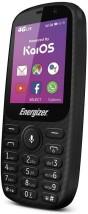 Tlačítkový telefon Energizer Energy E241S LTE, WiFi, GPS, černá