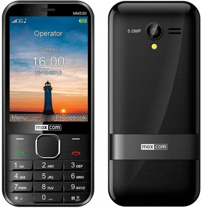 Tlačítkový telefon Maxcom Classic MM 330 3G
