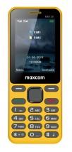 Tlačítkový telefon Maxcom Classic MM139 Banana, žlutá