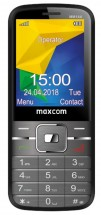 Tlačítkový telefon Maxcom Classic MM144, černá