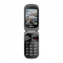 Tlačítkový telefon Maxcom Comfort MM825, véčko, černá