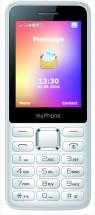 Tlačítkový telefon myPhone 6310 Easy, bílá