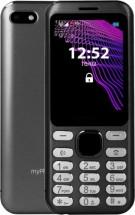 Tlačítkový telefon myPhone Maestro, černá