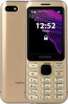 Tlačítkový telefon myPhone Maestro, zlatá ROZBALENO