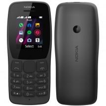 Tlačítkový telefon Nokia 110 DS, černá