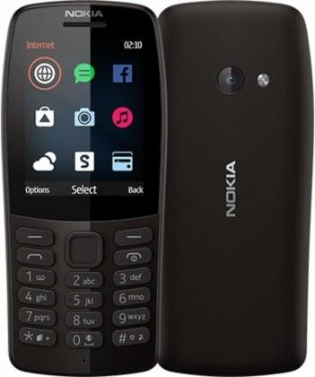 Tlačítkový telefon Nokia 210 DS, černá