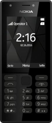 Tlačítkový telefon Nokia 216 DS, černá