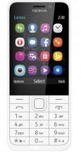 Tlačítkový telefon Nokia 230 Dual SIM, bílá