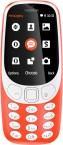 Tlačítkový telefon Nokia 3310 2017, červená